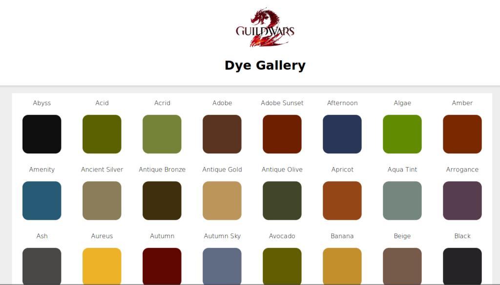 Dye Gallery